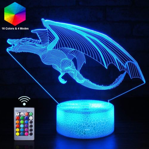 Dinosaur Night Light 3D LED Lamp