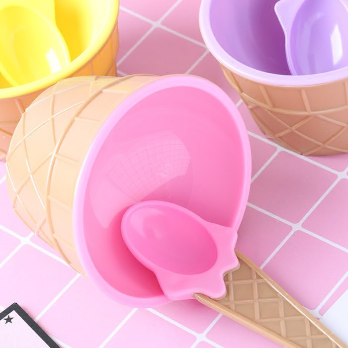 Ice Cream Cups Cute and Colorful Design