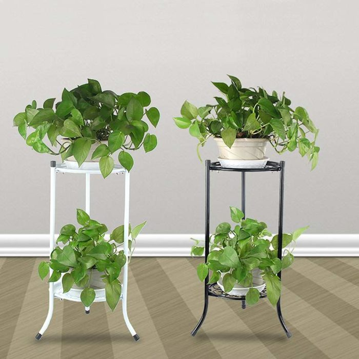 Flower Pot Stand Two-Tier Rack