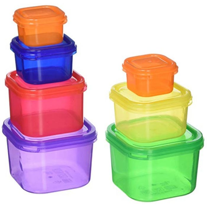Portion Control Containers 7 Pieces Set