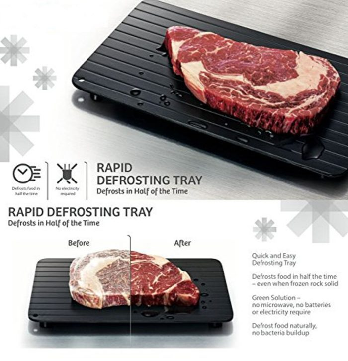 Defrosting Plate Quick Thawing Tray