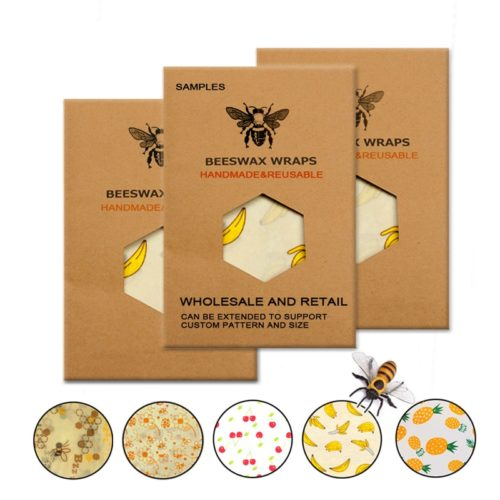 Beeswax Paper Reusable Food Wrap