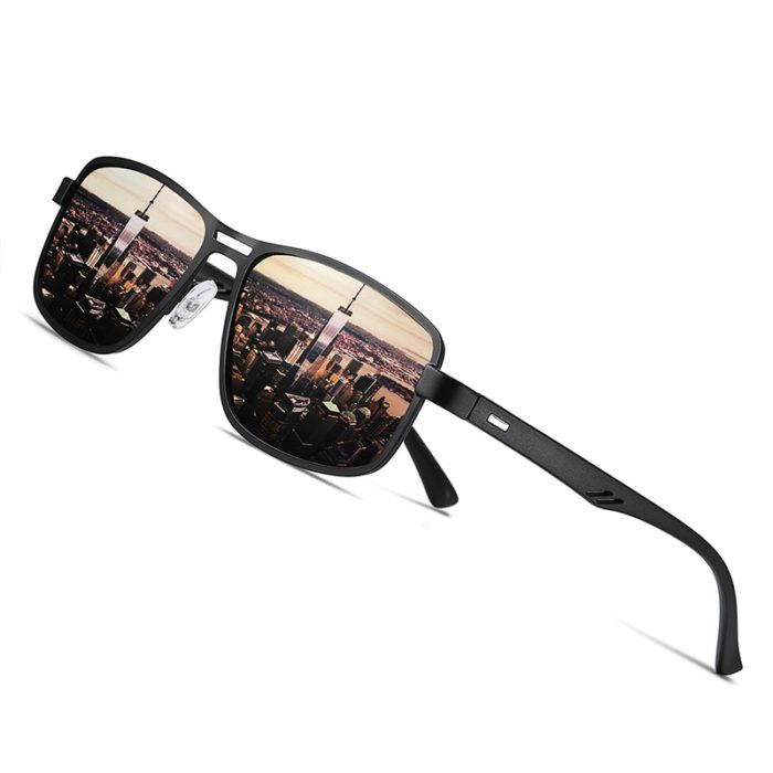 Square Aviator Sunglasses For Men