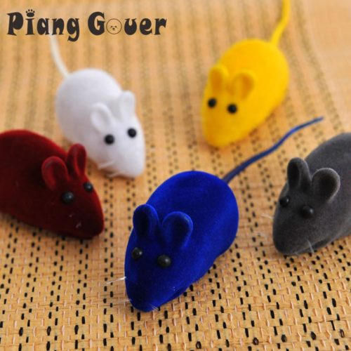Cat Chew Toys Random Color Mouse Toys