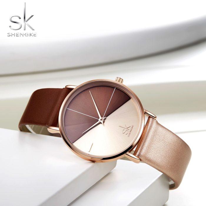 Ladies Stylish Watch Two-Toned Timepiece
