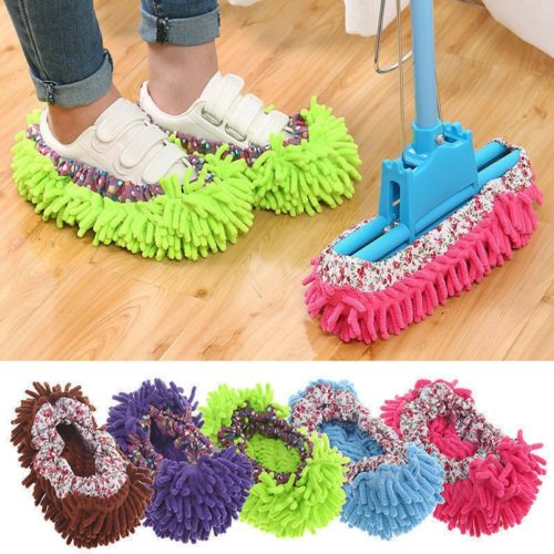 Mop Slipper Microfiber Floor Cleaner