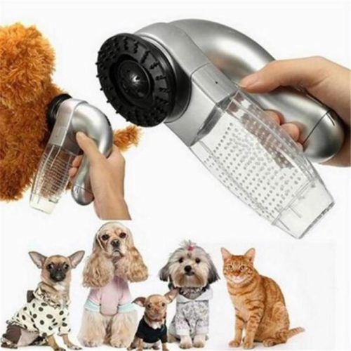 Dog Vacuum Brush Groom Tool