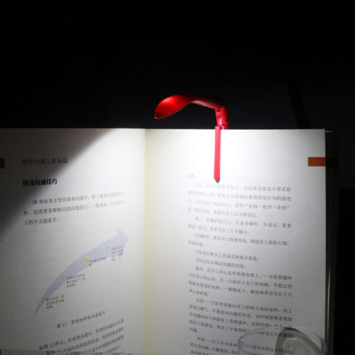 Book Light LED Clip-On Bookmark