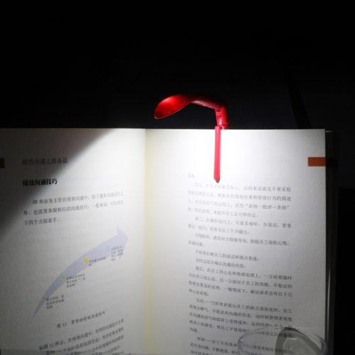 Book Light LED Clip-On Bookmark