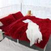 Fur Blanket Coral Fleece Fabric