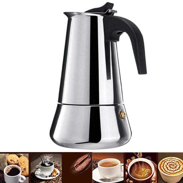 Stainless Steel Coffee Maker Kettle
