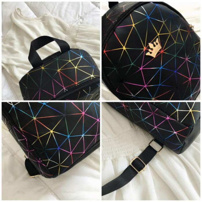 Mini Leather Backpack Ladies Bag