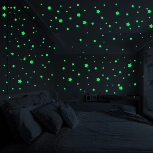 Glow in the Dark Star Stickers Self-Adhesive