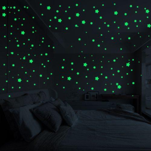 Glow in the Dark Star Stickers Self-Adhesive