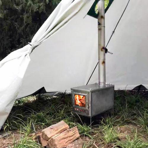 Tent Stove Metal Outdoor Heater