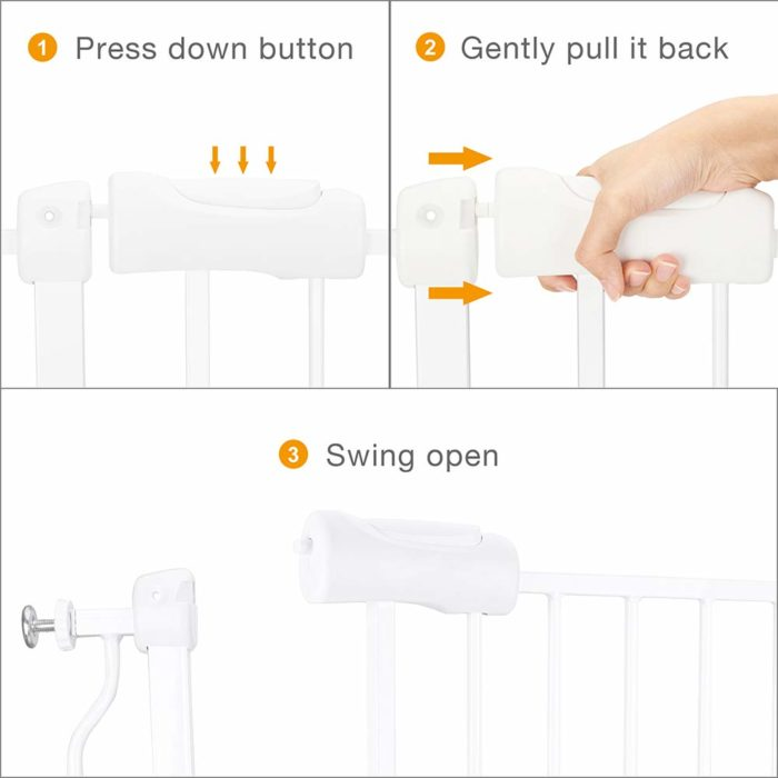 Baby Safety Gate Easy Installation