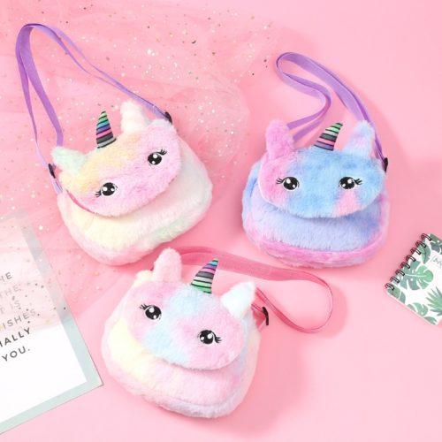 Toddler Purse Colorful Unicorn Design
