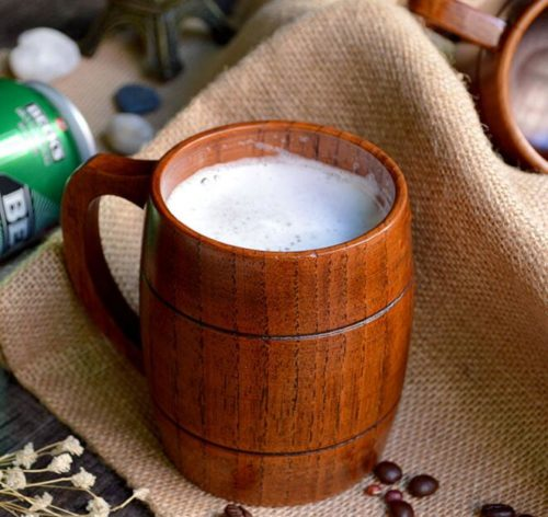 Wooden Beer Mug Party Cup