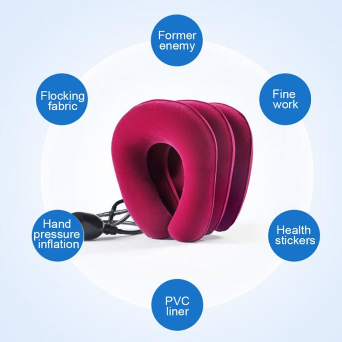Inflatable Neck Pillow Travel Brace
