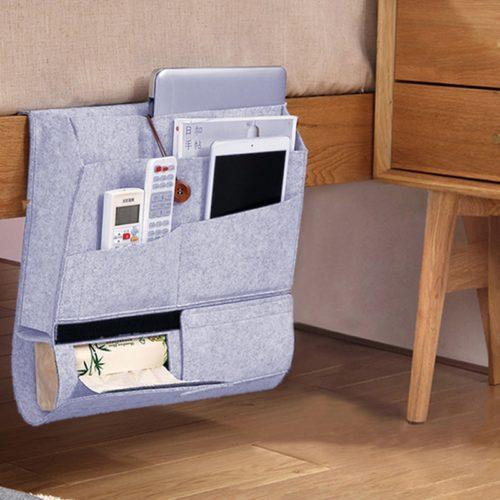 Bedside Storage Caddy Organizer