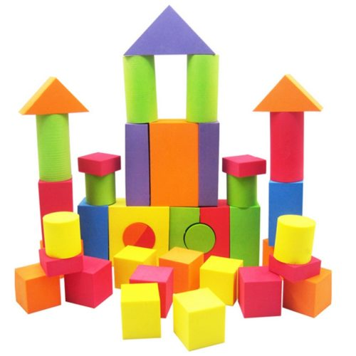 Foam Blocks 38PC Toy Set