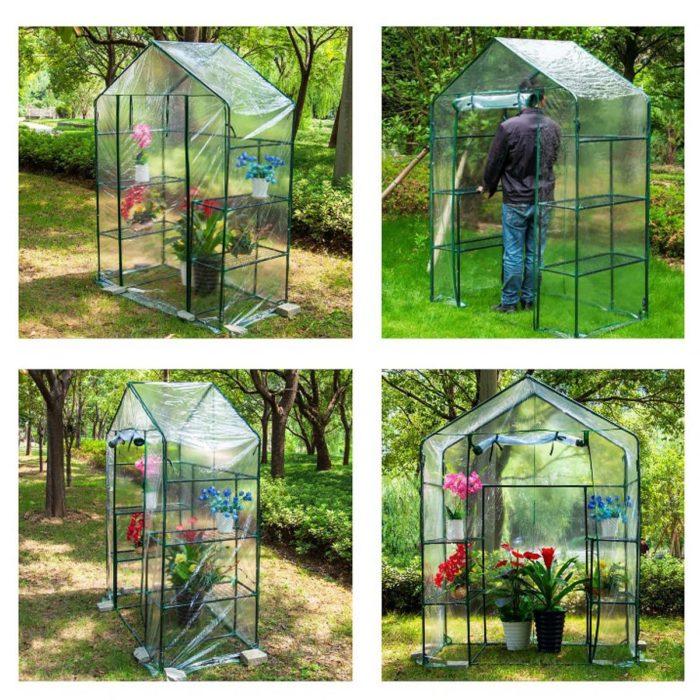 DIY Green House Plant Shelter