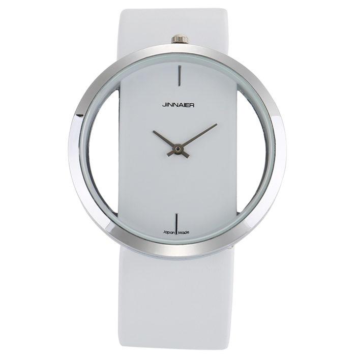 Leather Watch For Women Stylish Timepiece