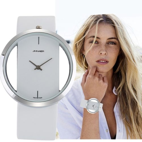 Leather Watch For Women Stylish Timepiece