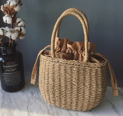 Summer Handbag Ladies Straw Bag