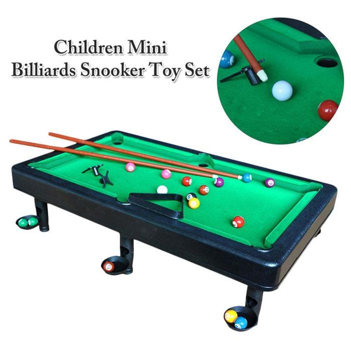 Mini Billiards Table Portable Set