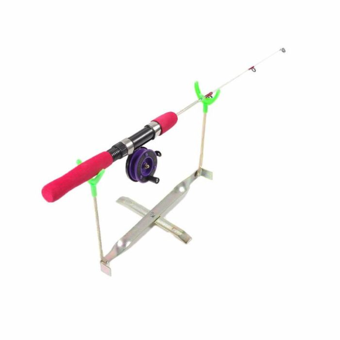 Ice Fishing Rod Holder Foldable Support