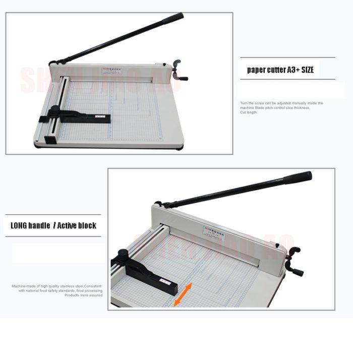 Paper Slicer Manual A3 Cutter