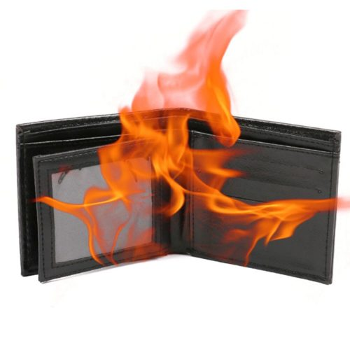 Fire Wallet Magic Trick Practical Joke