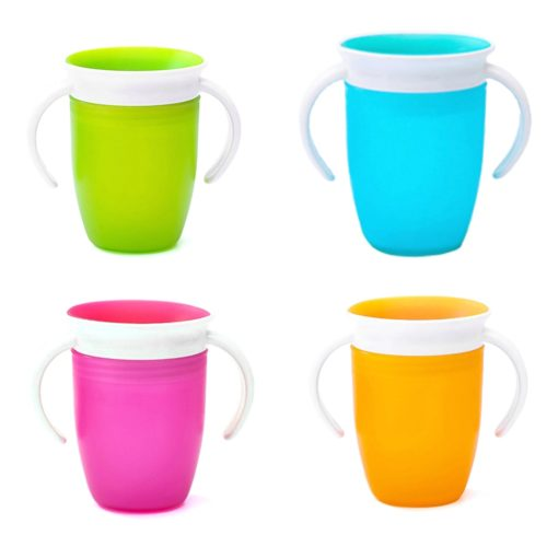 Training Cup Silicone Anti-Spill Cup
