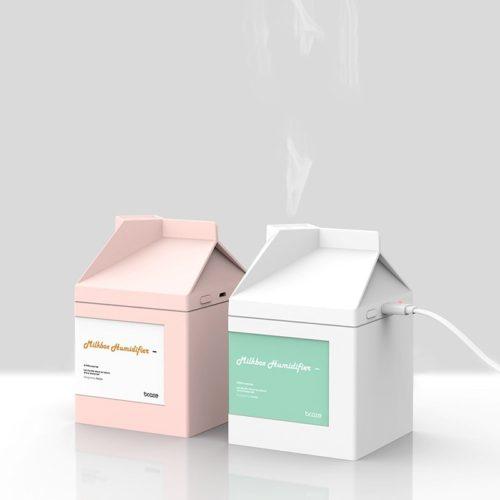 USB Humidifier Milk Box Style