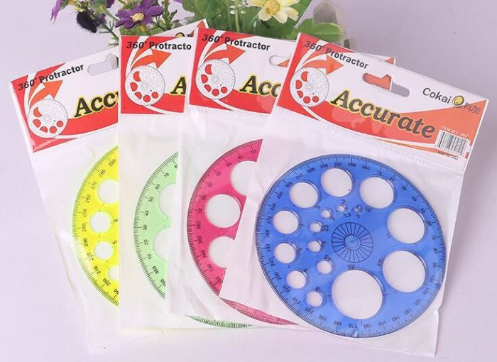 Circle Template Plastic Round Ruler