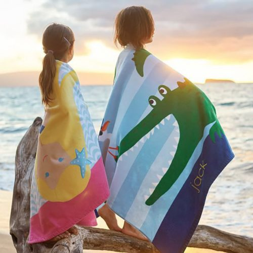 Kid's Beach Towel with Hood