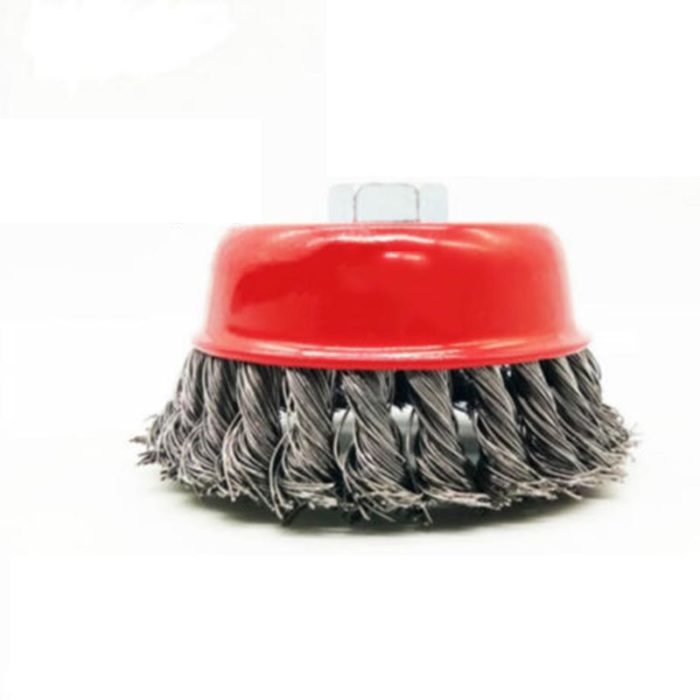 Cup Brush Steel Wire Cleaning Tool