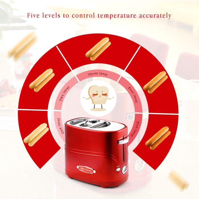 Hot Dog Maker Five Temperature Levels