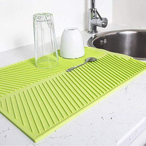 Dish Mat Silicone Non-Slip Pad