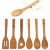 Wooden Cooking Utensils Set (6Pcs)