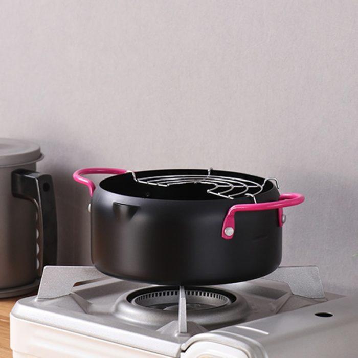 Frying Pot Small Deep Fryer