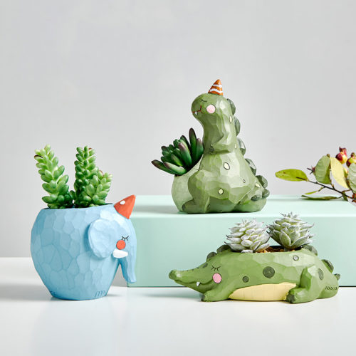 Cute Plant Pot Animal Design Pot