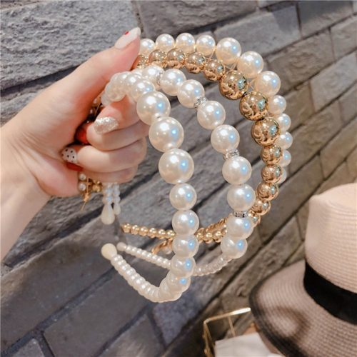 Pearl Hairband Head Accessory