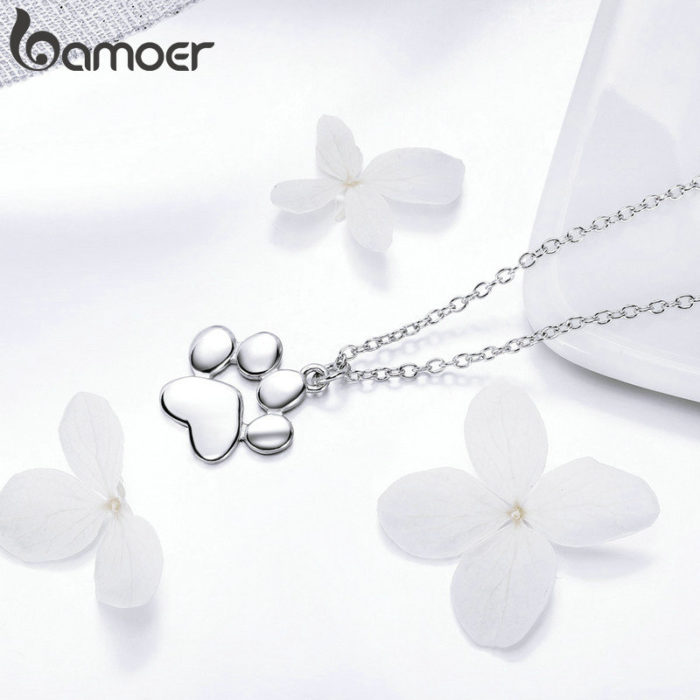 Paw Necklace Ladies Accessory