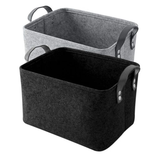 Toy Storage Basket Felt Box