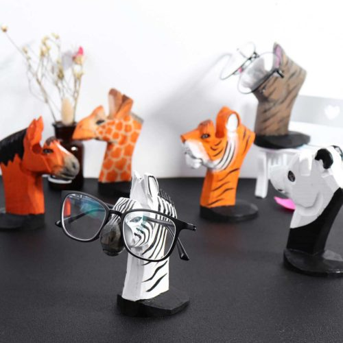 Eyeglass Holder Stand Animal Display