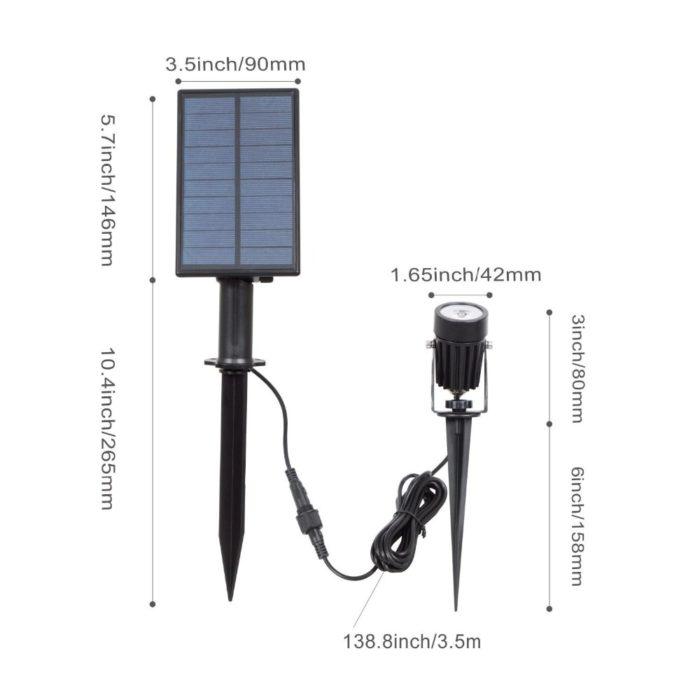 Outdoor Solar Spot Light LED Light