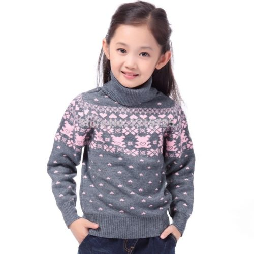Winter Sweater For Girls Children's Wear
