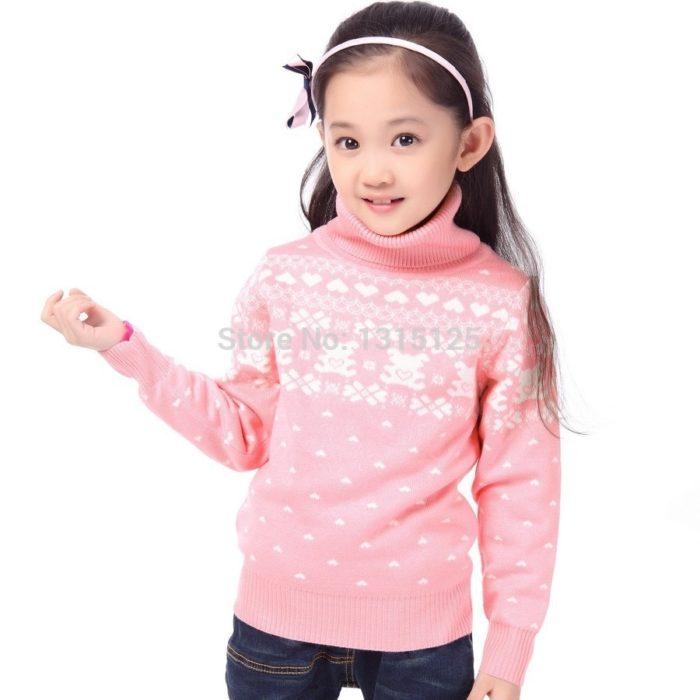 Winter Sweater For Girls Children's Wear